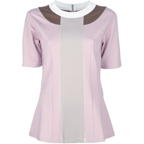 colour blocked blouse - Pink & Purple Marni Eastbay Sale Online Very Cheap Cheap Online For Sale Cheap Authentic Best Place Sale Online Pay With Paypal Sale Online Yn7qox