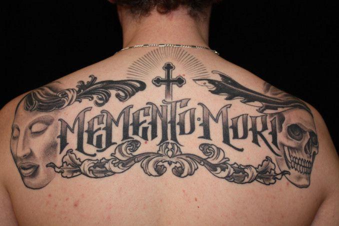 Tattoo Lettering Schiena Tatuaggi Scritte: come crearvi la scritta …