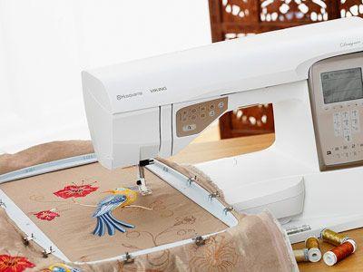 Husqvarna Viking Designer Topaz 40 Entry Level Embroidery On A Custom Husqvarna Topaz 20 Sewing Embroidery Machine