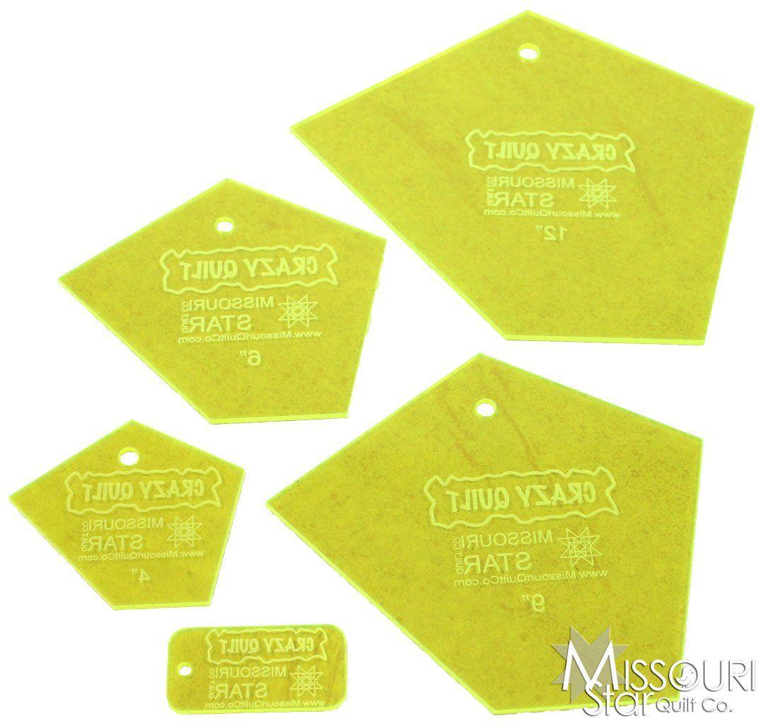 Missouri Star Quilt Company - Crazy Quilt Templates | Crazy quilts ... : free crazy quilt templates - Adamdwight.com