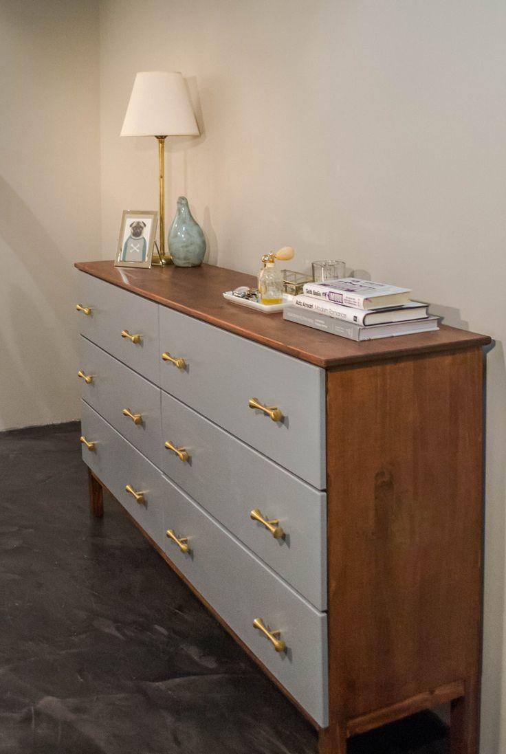 ikea tarva hack mid century inspired ikea tarva makeover diy tutorial hack ikea ikea. Black Bedroom Furniture Sets. Home Design Ideas