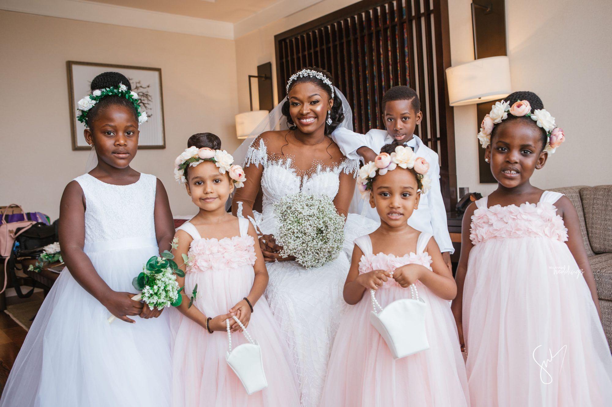 Amanda Sydney S Outdoor White Wedding In Ghana Is Goals In 2020 White Wedding Ceremony White Wedding Ghanaian Wedding