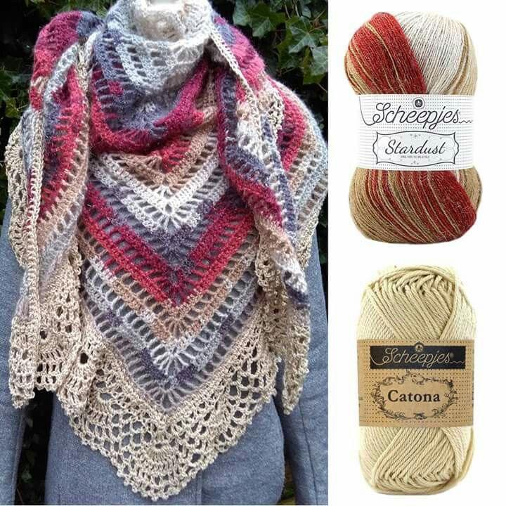 Scheepjes Stardust check Bij Tante Roos!!! | Croche | Pinterest ...