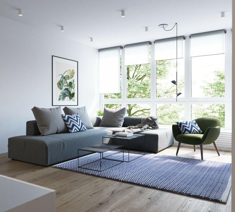 cool skandinavisch wohnen Wohnzimmer Sofa skandinavische Möbel Check ...