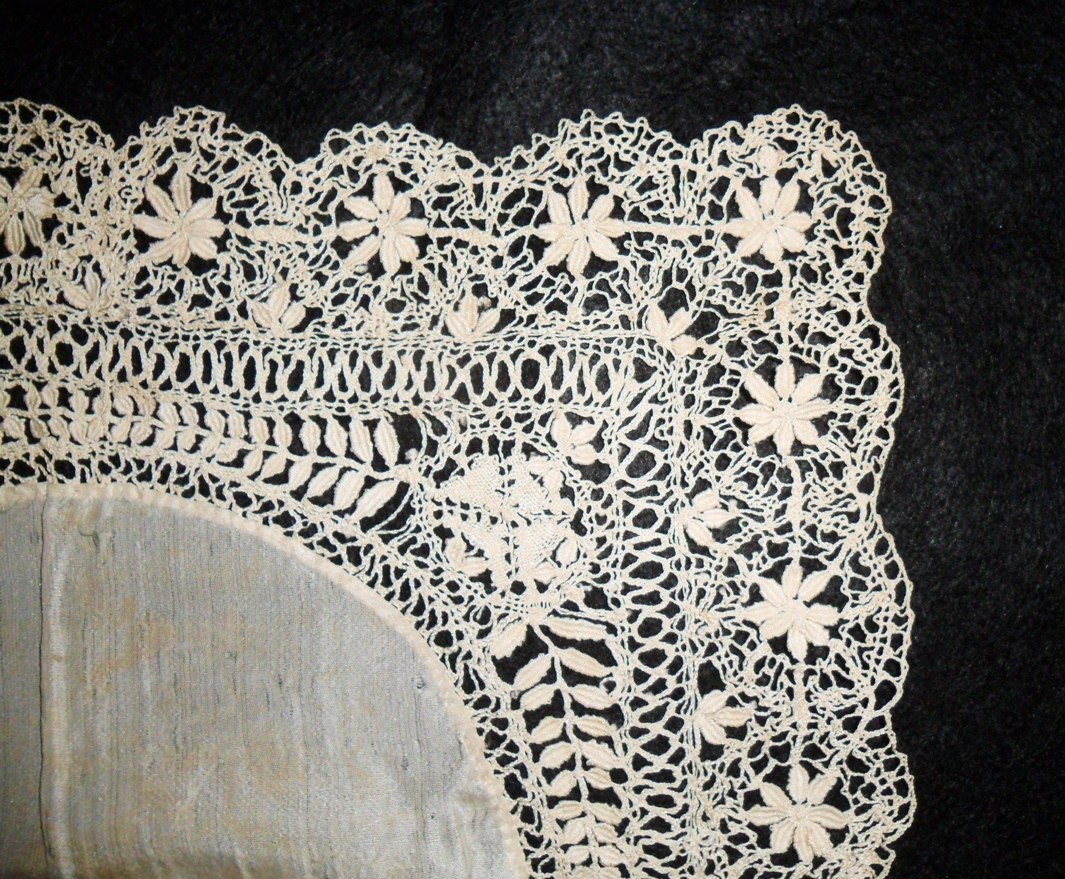 maltese bobbin lace handkerchief - Google Search