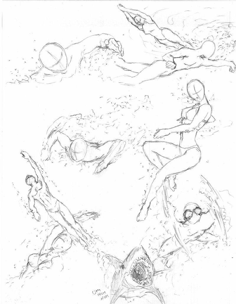 swimming poses by shinsengumi77 deviantart com on  deviantart