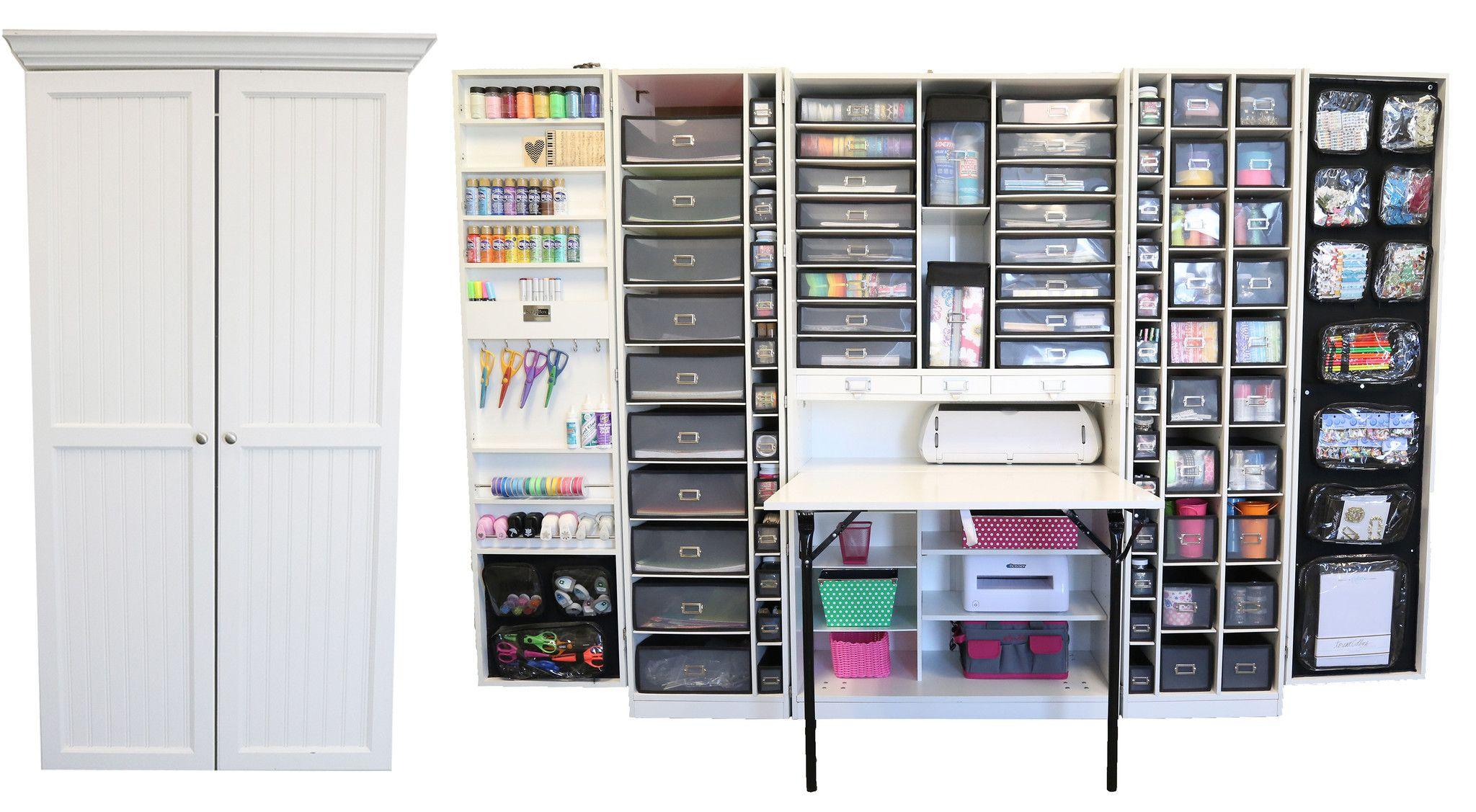 The WorkBox 2.0 - Schrank und Arbeitsplatz für Nähen Basteln Home ...
