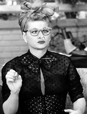The crack-up:  Lucille Ball
