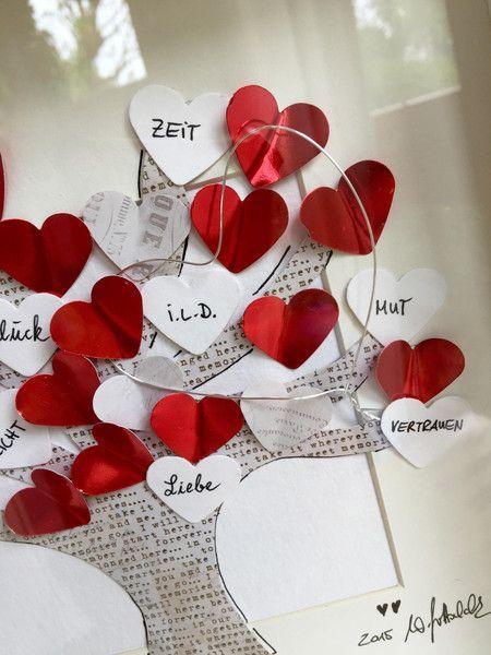 """Bilder - Bild """"Baum der Liebe"""" - ein Designerstück von wiwi111 bei DaWanda"""