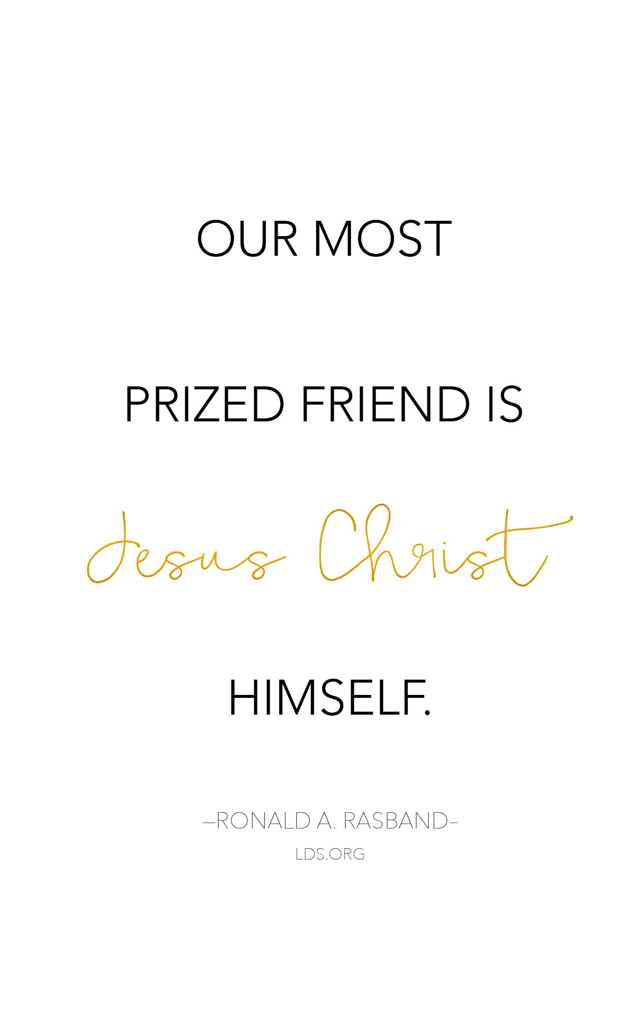 Thy Friends Do Stand By Thee: Mentors and Friendship | Churches ...