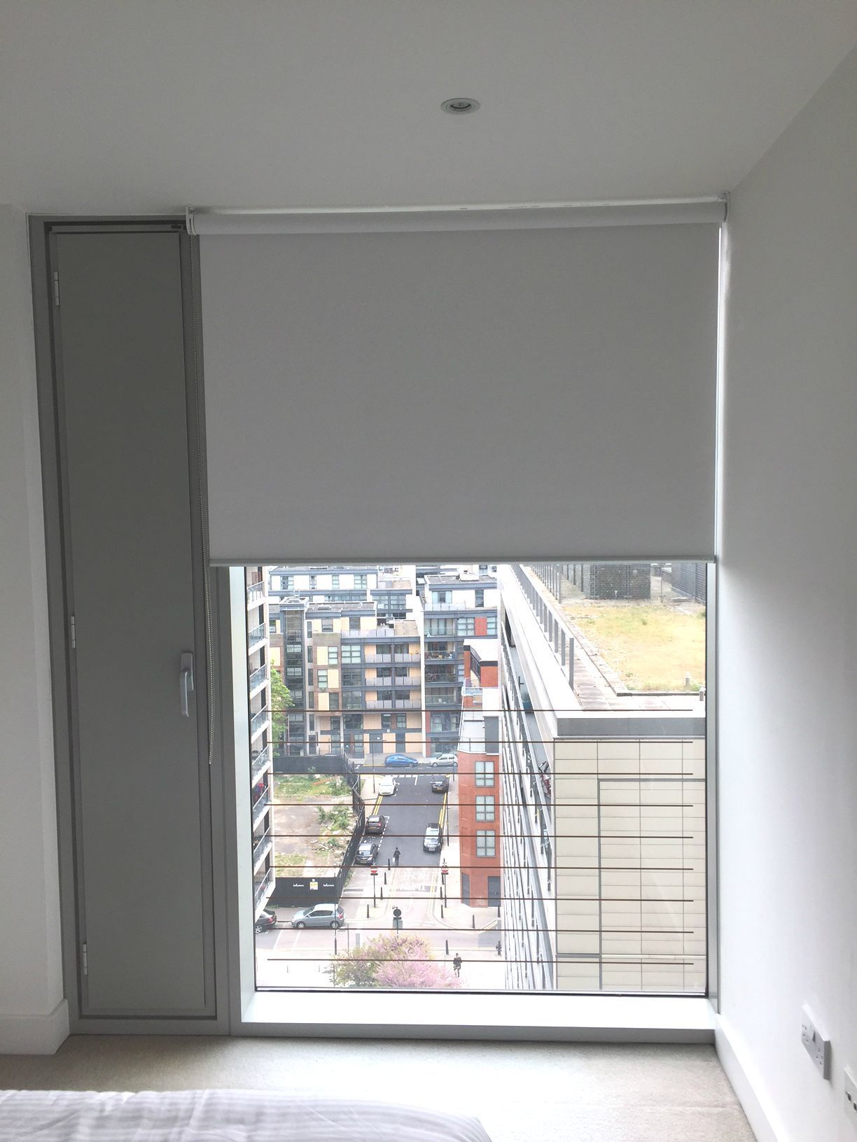 Blackout Roller Blind For Floor To Ceiling Window Bedroom Blind 22 Marsh Wall Landmark Tower Blinds For Windows Living Room Blinds Vertical Window Blinds