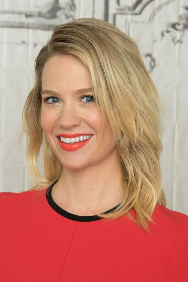 January Jones at the 2016 AOL Build Series.