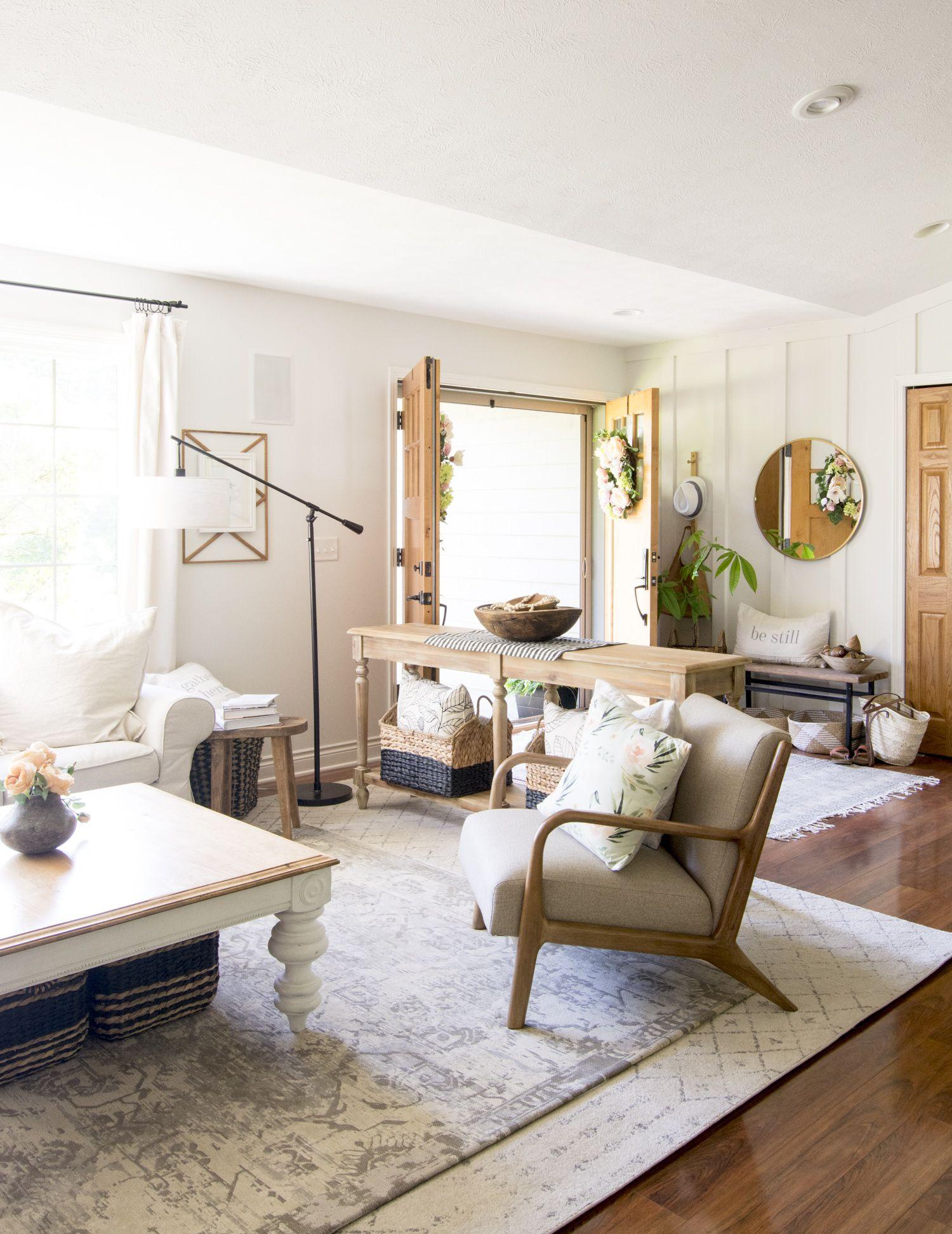 Simple Summer Decorations Home Tour Home Interior Interior Design