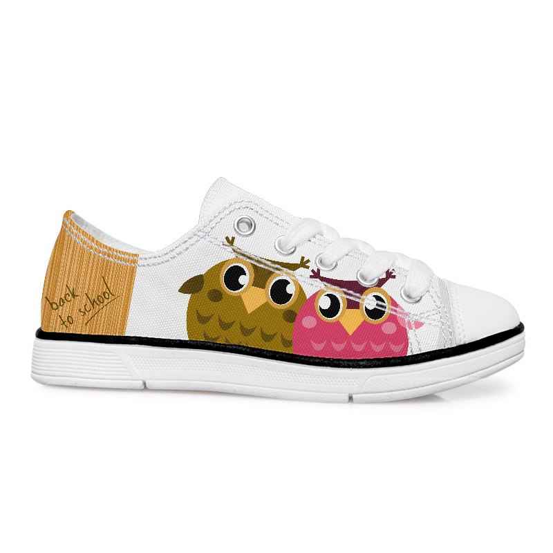 Design Shoes With Birds Kids Shoes Back To School Shoes Kids Shoes Canvas Shoes