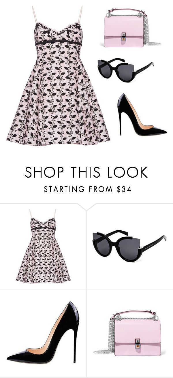 """""""Bella in cuteness  (ms)"""" by ale-pink5 ❤ liked on Polyvore featuring Giambattista Valli, Marc by Marc Jacobs and Fendi"""