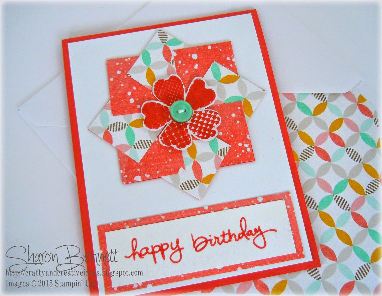 Best Year Ever Pinwheel Technique Card By  Cards And