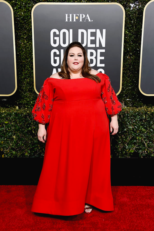 0f108fb5a71 Chrissy Metz arrives to the 76th Annual Golden Globe Awards