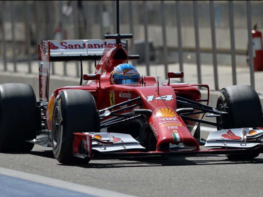 Bahrain Testing 2014