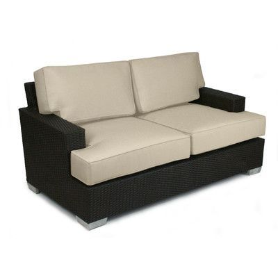 Patio Heaven Signature Love Seat Cushions Color: