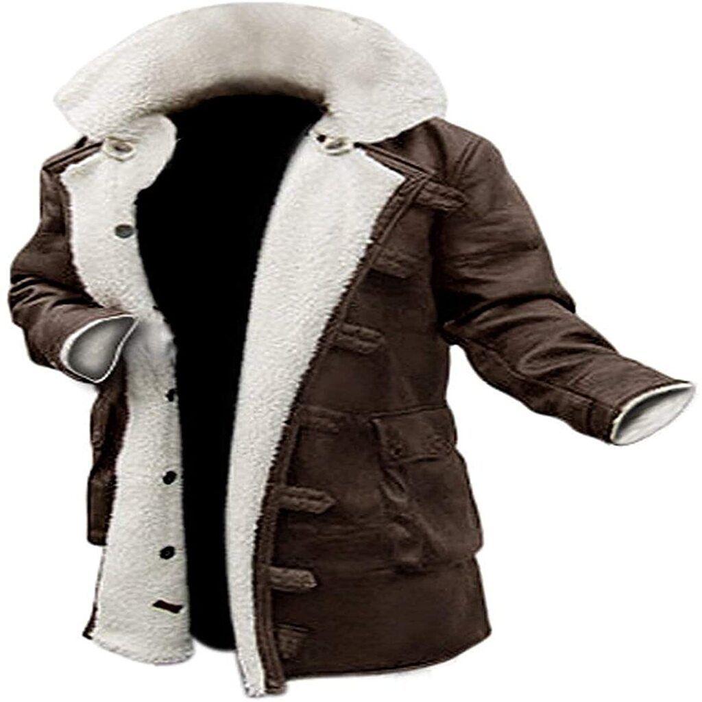Blingsoul Shearling Leather Coats For Men Swedish Bomber Leather Jacket Fur Coat Mens Leather Coats Leather Trench Coat Mens Mens Shearling Coat [ 1024 x 1024 Pixel ]