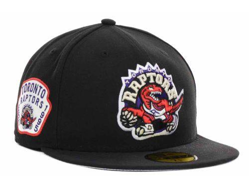 best service 26e89 6e5ea Toronto Raptors New Era NBA Hardwood Classics Team Patch 59FIFTY Cap Hats