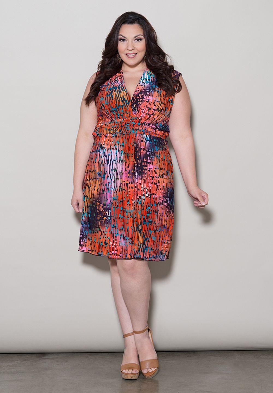 Plus Size Dresses | Marla Tank Dress | Swakdesigns.com
