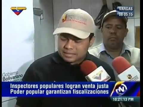 (Vídeo) Inspectores populares logran venta justa de productos cárnicos en Vargas #DiaDeLaVictoria70