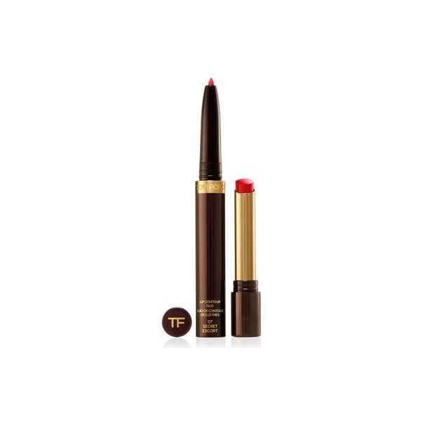 Tom Ford Beauty Lip Contour Duo (69 AUD) ❤ liked on Polyvore featuring beauty products, makeup, lip makeup, secret escort, tom ford, tom ford cosmetics and tom ford makeup