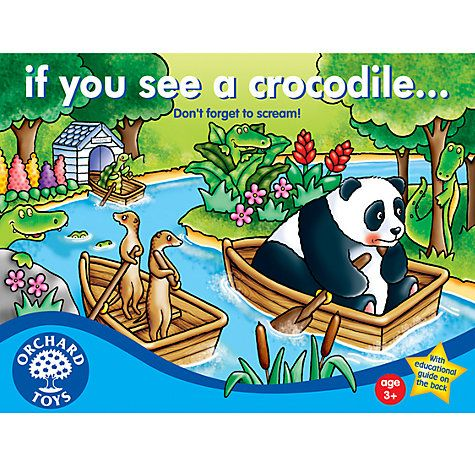 Buy If You See A Crocodile Colour Game Online at johnlewis.com £7.49 ...