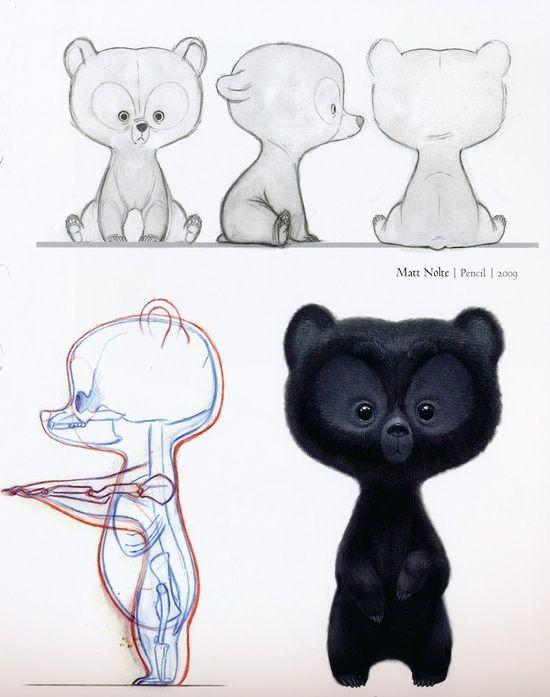 Animal blueprint 3d modeling pinterest animal characters and animal blueprint malvernweather Choice Image