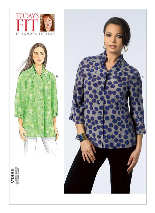 Simplicity 1064 Learn to Sew Summer Tunic Sewing Pattern for Women Sizes 6-14