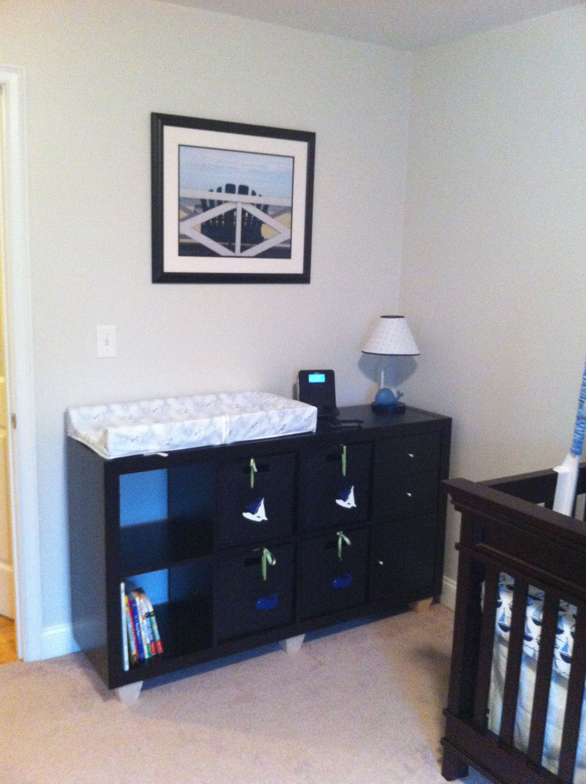 Ikea Cube Storage As Our Changing Table Cube Storage Bedroom Cube Storage Ikea Cubes