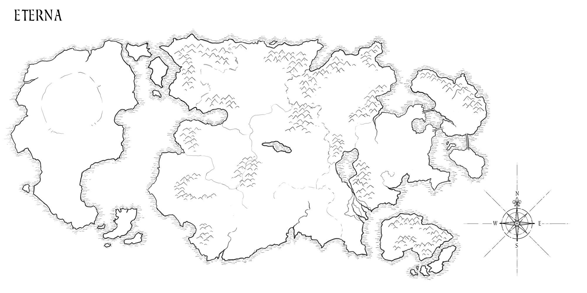 Hand Drawn Fantasy World Maps Maps Levi S Blog