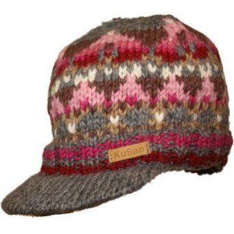 Mens Genuine Kusan Peaked  Beanie Cap  Hat.  Clothing  a83eb0f761a