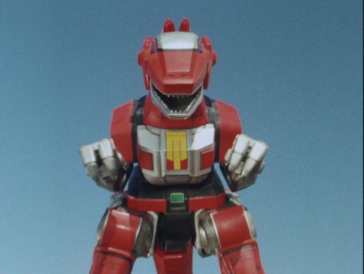Zyurangers/Power rangers Dinozords reffrence images still