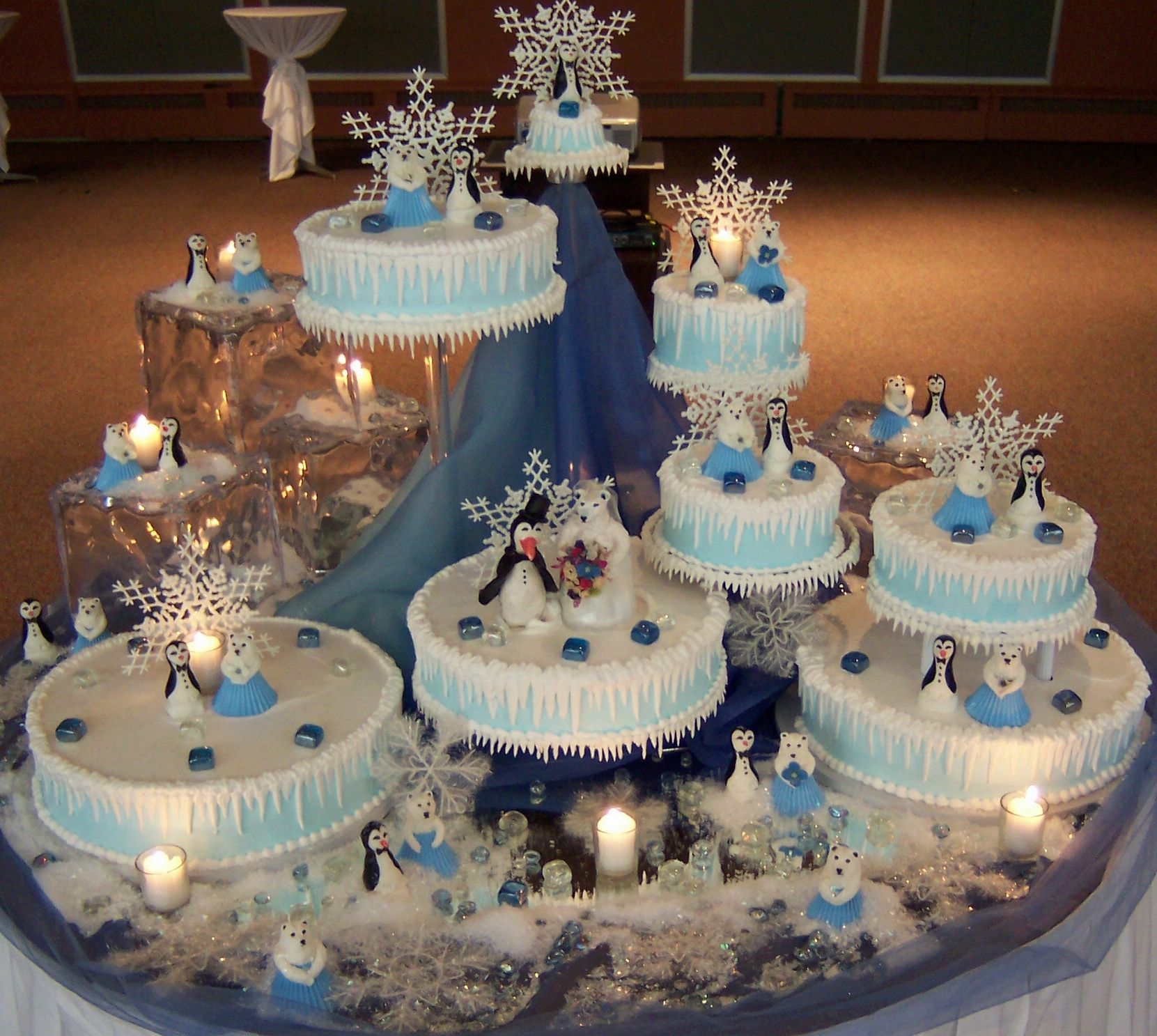 wedding cakes northern new jersey%0A Polar Bear wedding cake