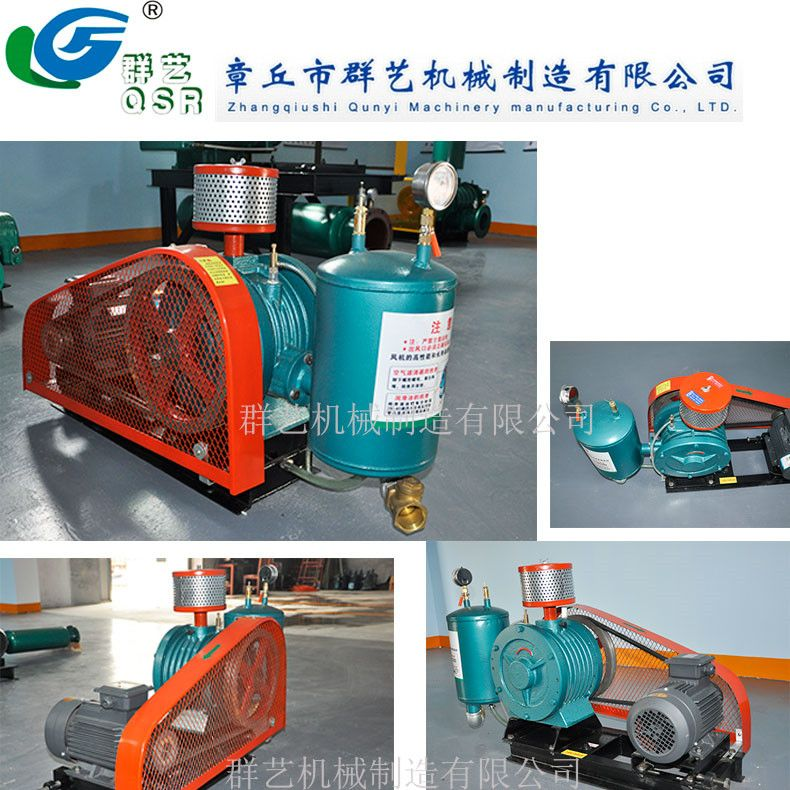 High Capacity Low Power High Pressure Roots Blower Roots