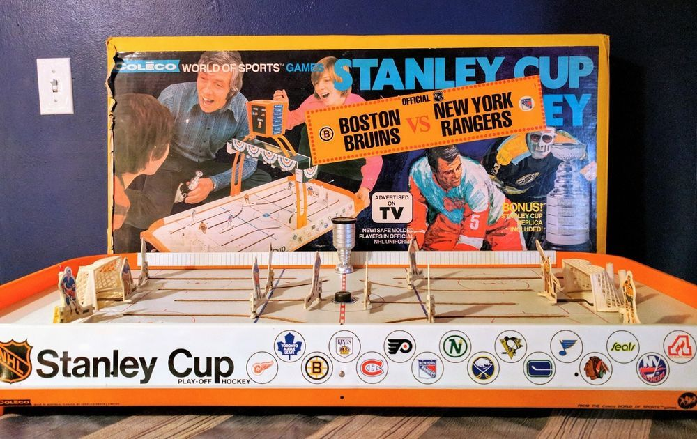 Table Hockey - Coleco Game room - hfboards.mandatory.com