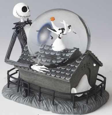 Disney Snowglobes Collectors Guide: Zero's Doghouse Snowglobe