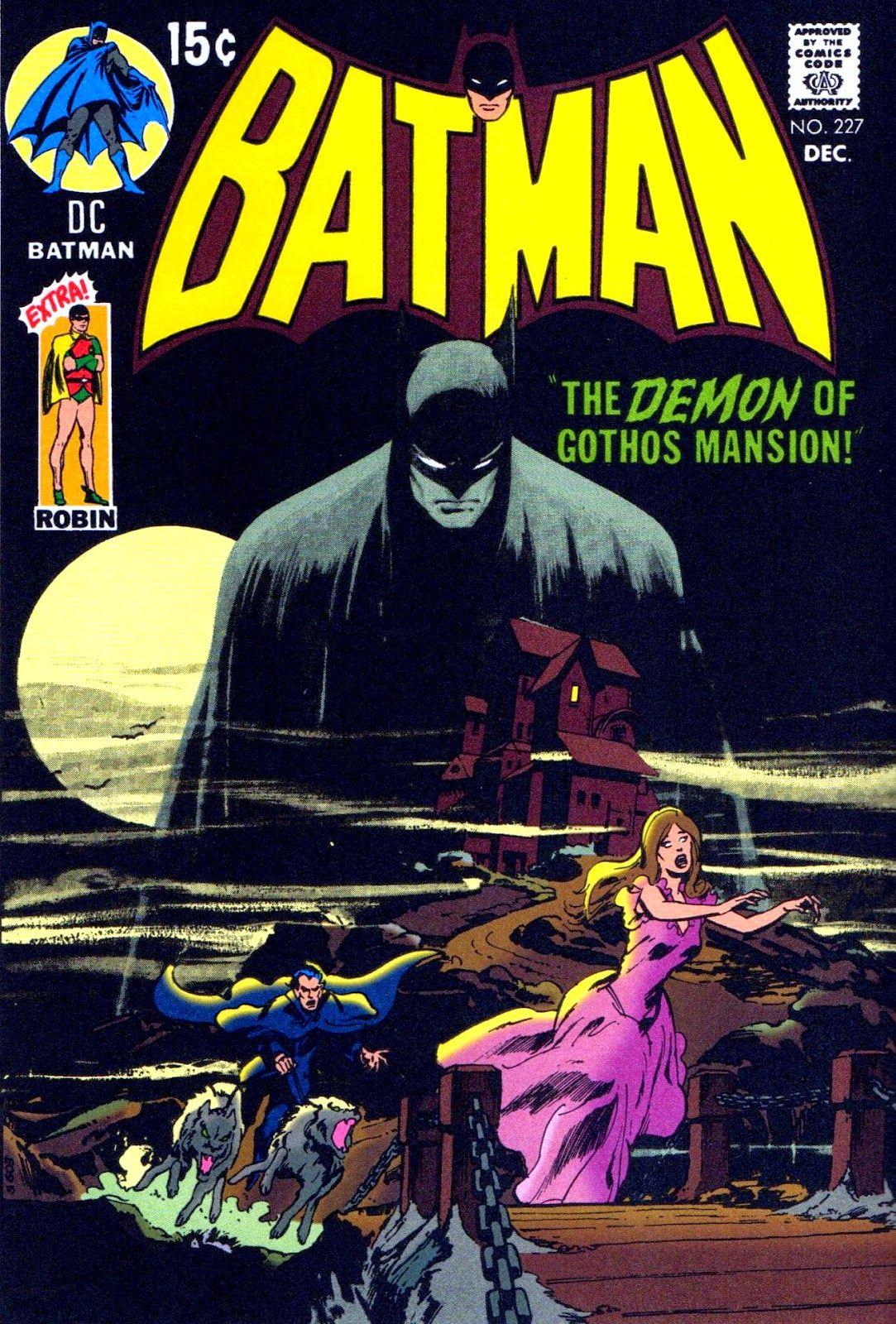 Batman #227 - Pencil & Inks by Neal Adams   HOOBIES   Pinterest