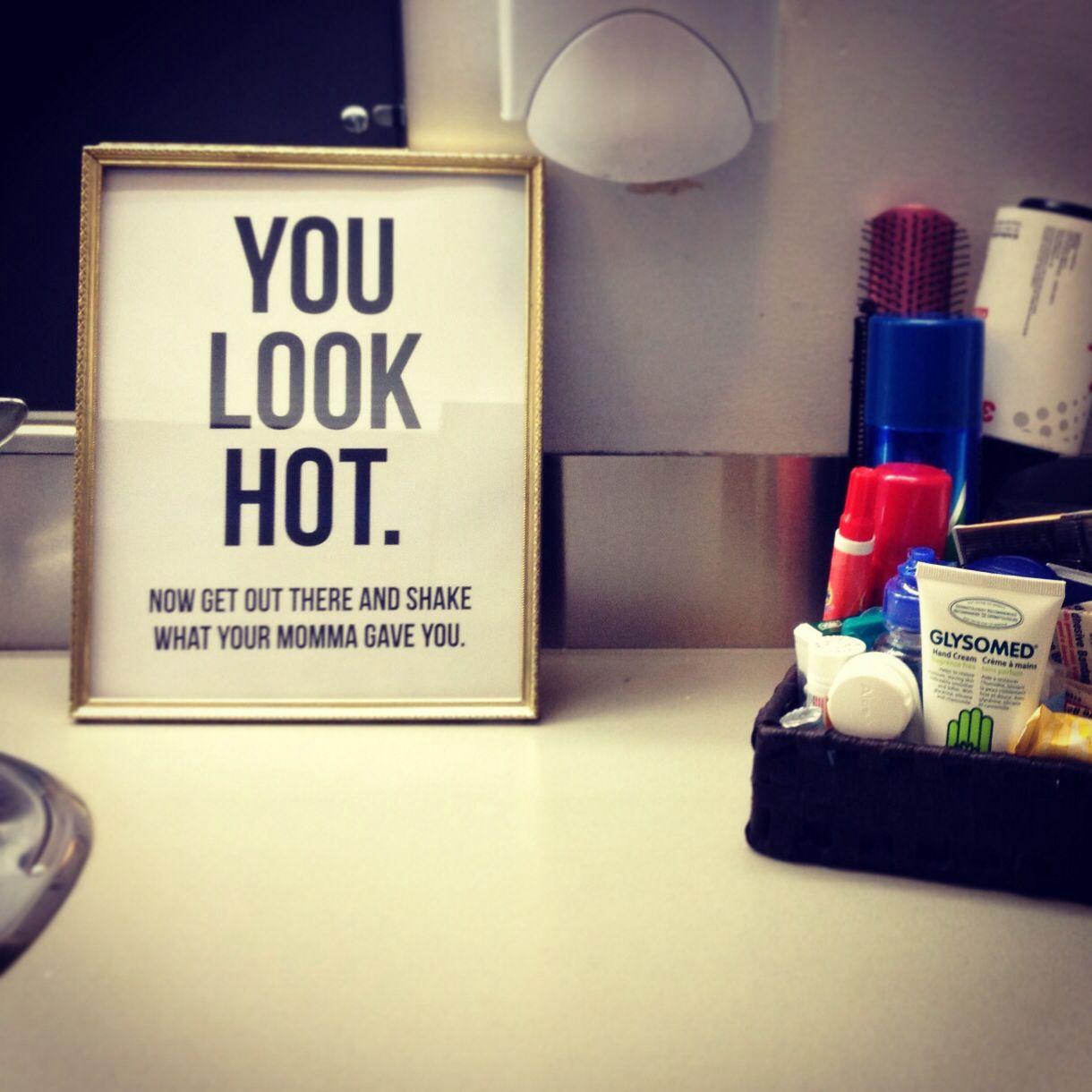 Cute wedding signs you need toronto wedding planners for Bathroom decor hashtags
