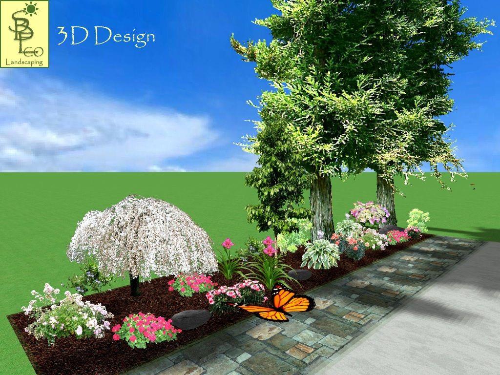 Cottage Garden 002 Cottage Garden Landscape 3d Design