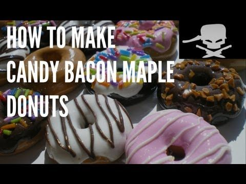 afd5ad8d6b4 ▷ How To Make Candy Bacon Maple Donuts - Handle It - YouTube ...