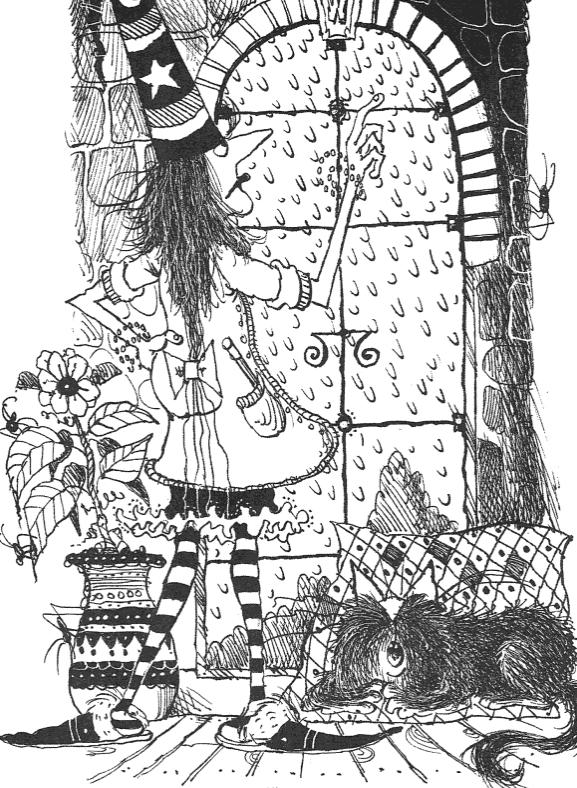 Winnie The Witch Zauberer Ausmalbilder Ausmalen