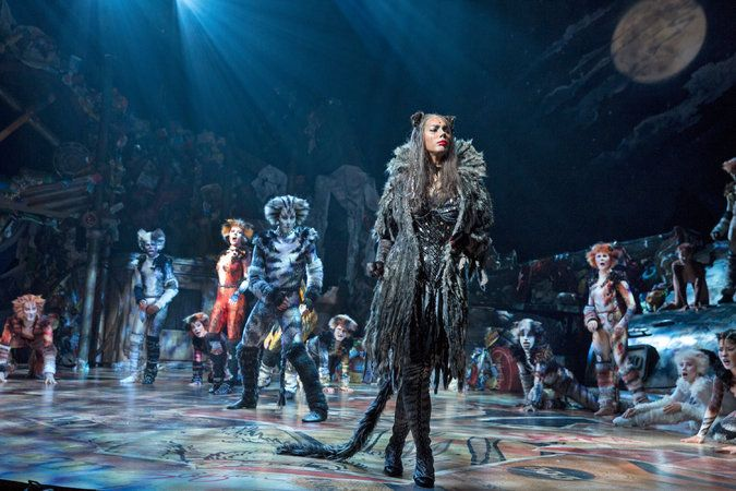 Review Does Cats Have Nine Lives On Broadway Two Certainly