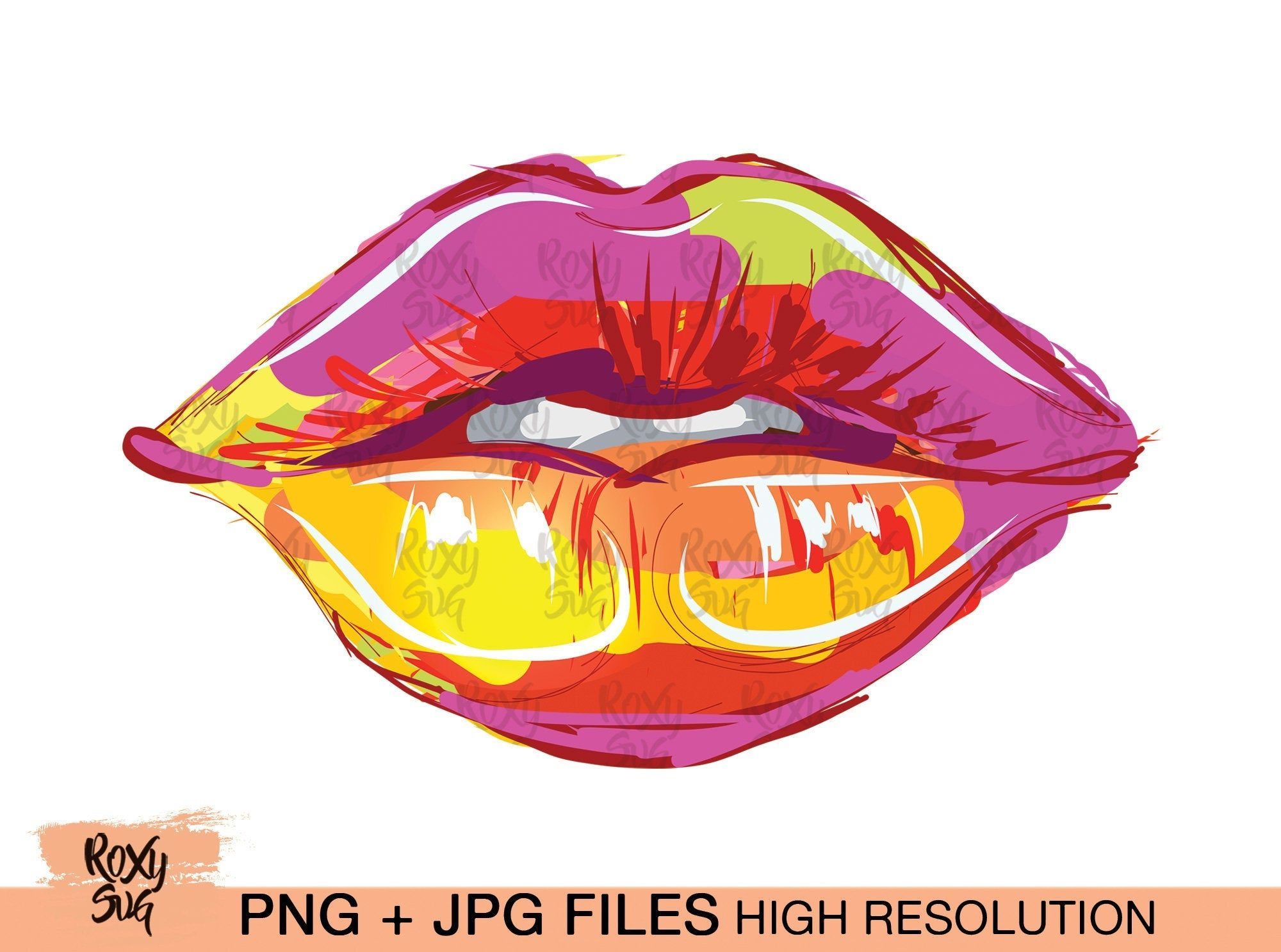 Lips Clipart Sublimation Designs Sublimation Designs Downloads Lips Iron On Decal Lips Sublimation Download Kiss Png Lips Png Clip Art Free Vector Illustration Create And Craft