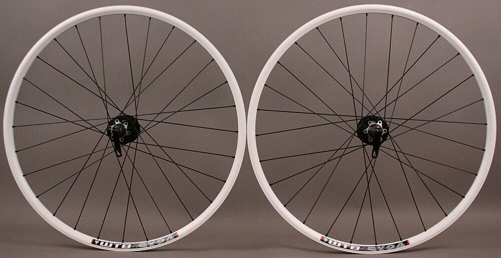 Details About Wtb Sx17 Rims 26 White Mountain Bike Mtb Wheelset