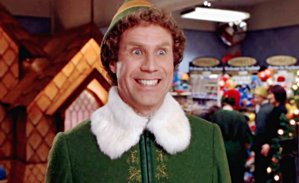 Now it's just a Will Ferrell thing. Elf quotes, Buddy