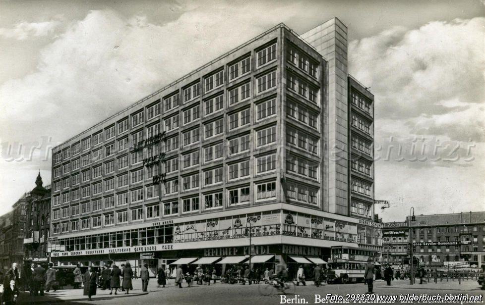 Berolina Hochhaus Am Alexanderplatz 1934 Hochhaus Berlin Hochhaus Bilder