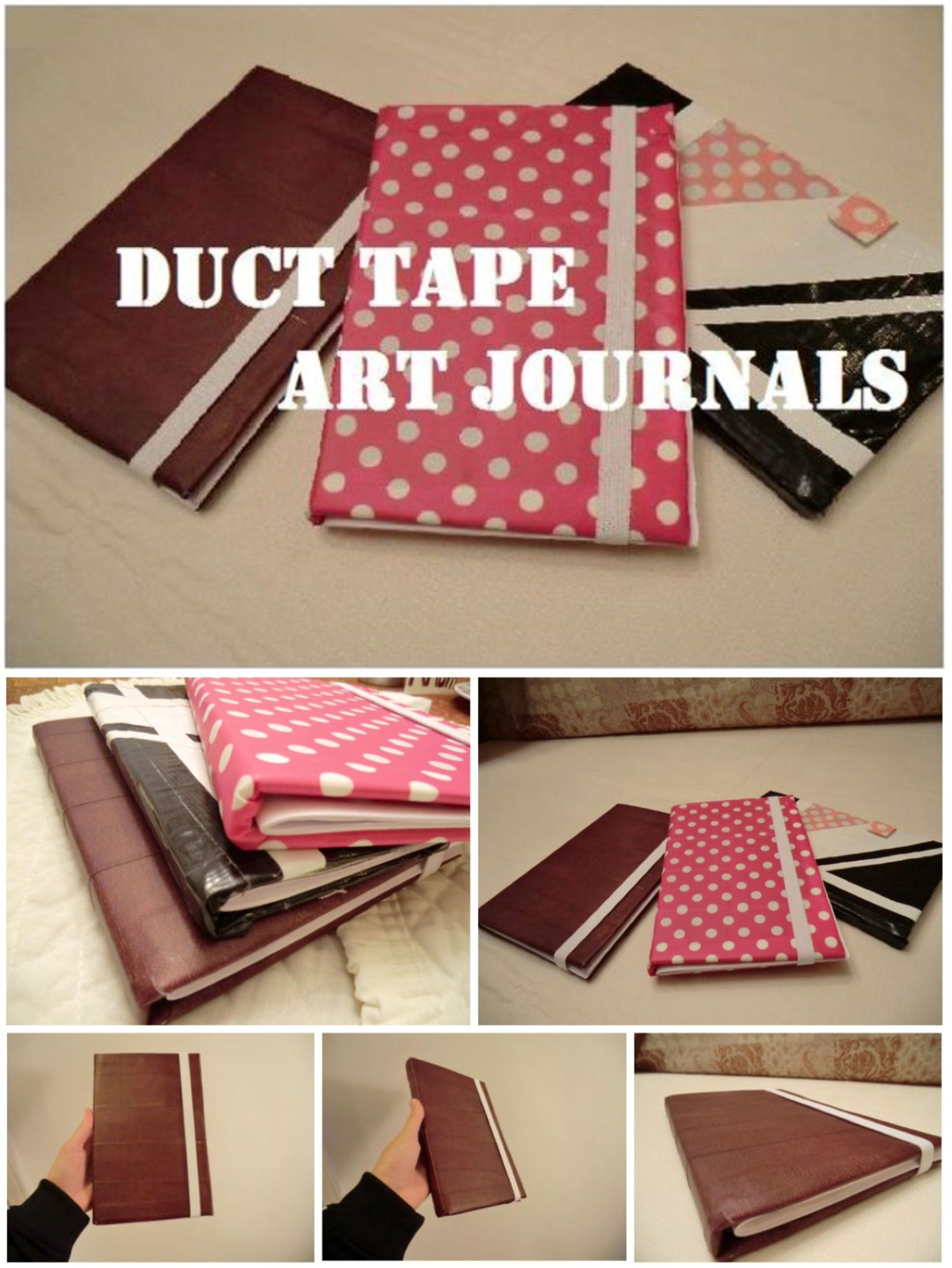 'Duct Tape Art Journal...!' (via Instructables.com)